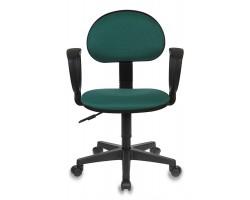 Кресло Бюрократ Ch-213AXN зеленый 10-24