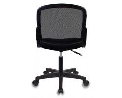 Кресло Бюрократ CH-1296 черный TW-01 сиденье черный 15-21 сетка/ткань крестовина пластик