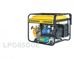 Гибридный газ бензин генератор CHAMPION LPG6500E