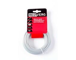 Леска  с металлическим сердечником для триммера RedVerg d 2,4мм (15м) круглая