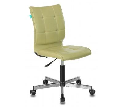 Кресло Бюрократ CH-330M зеленый Best 79 искусственная кожа крестовина металл хром