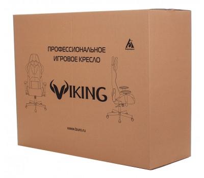 Кресло игровое Zombie VIKING-9 черный/салатовый искусст.кожа/ткань крестовина пластик
