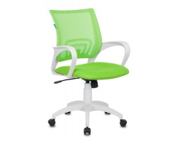 Кресло Бюрократ CH-W695N салатовый TW-03A TW-18 сетка/ткань крестовина пластик пластик белый