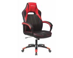 Кресло игровое Zombie VIKING 2 AERO черный/красный искусст.кожа/ткань крестовина пластик