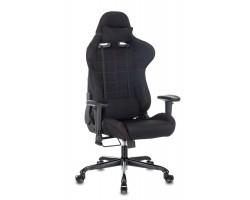 Кресло игровое Zombie 771N черный с подголов. крестовина металл черный