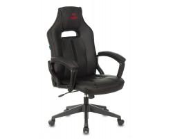 Кресло игровое Zombie A3 черный искусственная кожа крестовина пластик