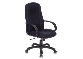 Кресло руководителя Бюрократ T-898AXSN черный TS-584 крестовина пластик