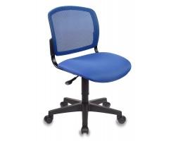 Кресло Бюрократ CH-296NX синий сиденье темно-синий 15-10 крестовина пластик