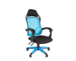 Кресло CHAIRMAN Game 12, голубое