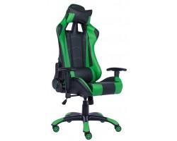 Кресло геймерское Everprof Lotus S9 экокожа зеленый