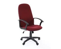 Кресло  CHAIRMAN 289 new, ткань бордовое