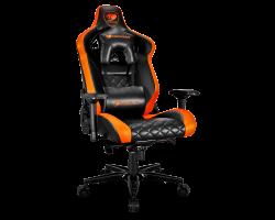 Кресло компьютерное игровое Cougar ARMOR TITAN Black-Orange [3MATTNXB.0001]