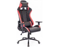 Кресло геймерское Everprof Lotus S11 экокожа красный
