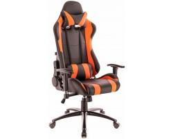 Геймерское кресло Everprof Lotus S2 экокожа оранжевый