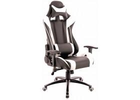 Геймерское кресло Everprof Lotus S6 экокожа белый
