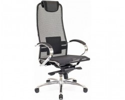 Компьютерное кресло Everprof Deco Сетка Черный для руководителя