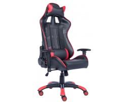 Геймерское кресло Everprof Lotus S10 экокожа красный