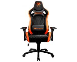 Кресло компьютерное игровое Cougar ARMOR S Black-Orange [3MGC2NXB.0001]