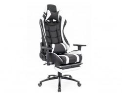 Геймерское кресло Everprof Lotus S1 Экокожа Белый