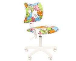 Кресло детское CHAIRMAN KIDS 102, обивка котики